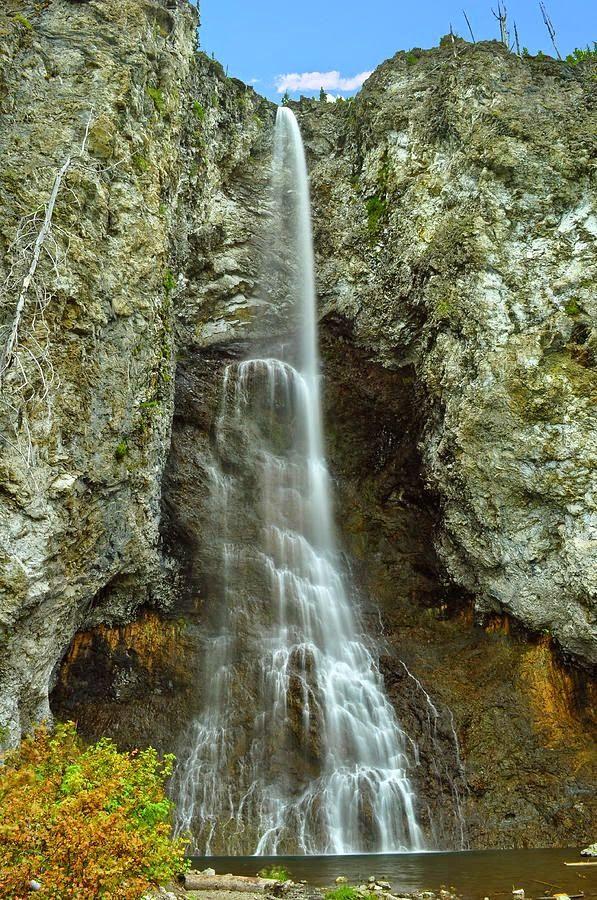 Fairy Falls - Yellowstone National Park
