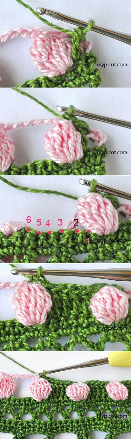 MyPicot | Free crochet patterns ✿⊱╮Teresa Restegui http://www.pinterest.com/teretegui/✿⊱╮