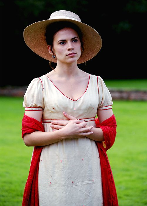 Hayley Atwell as Mary Crawford in Mansfield Park, 2007