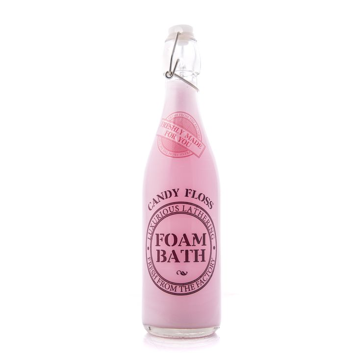 Fm4u Candy Pink Foam Bath 500ml.   Surround yourself with yummy indulgent oils and salts to really relax and unwind, whilst making sure your skin thanks you later. Available online from GoodiesHub.com