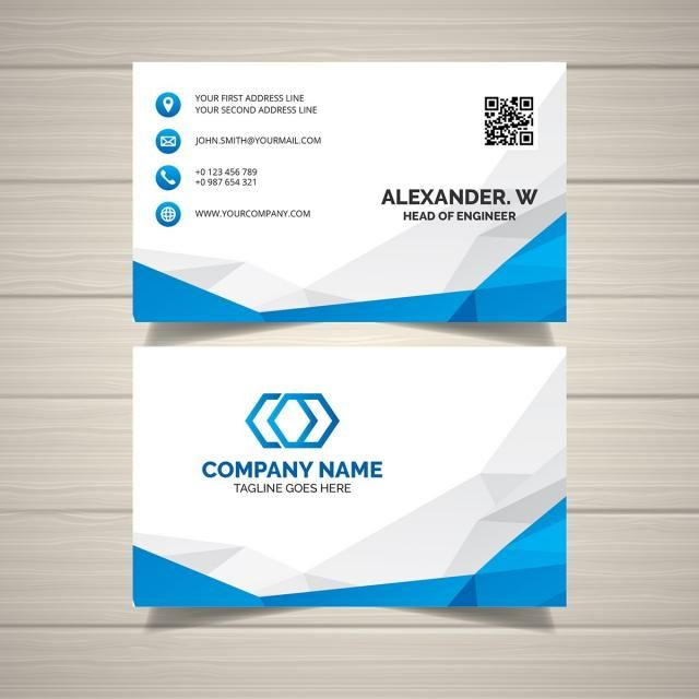 Clean And Creative Business Card Business Cards Creative
