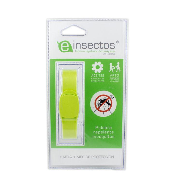Protegete a tí y a tu família con lapulsera repelente de mosquitos, considerada una de las mejorespulseras repelentes del mercado.