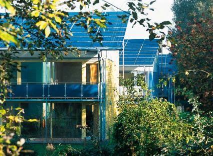Solarsiedlung Freiburg -Rolf Disch - Realisierte Projekte