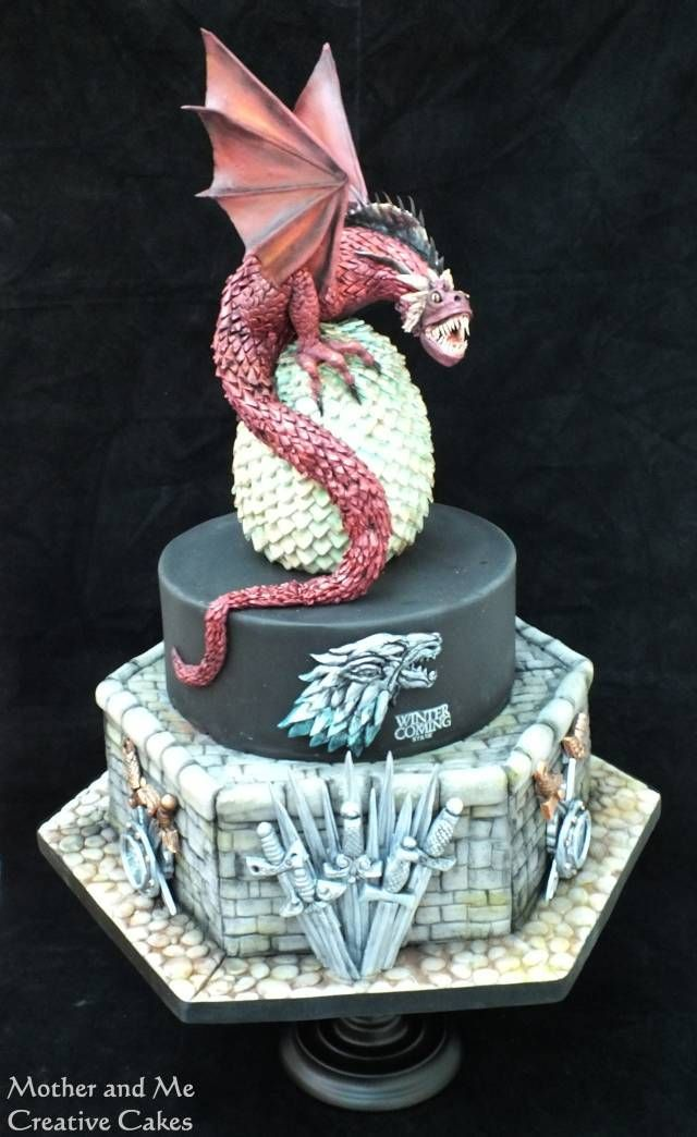 286 Best Game Of Thrones Cakes Images On Pinterest Conch