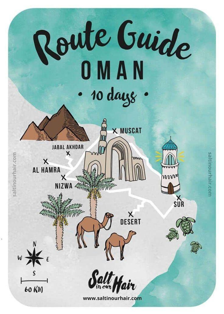Oman Routenplaner Karte 10 Tage Bilder Hochzeit Asienreisen Oman Oman Urlaub