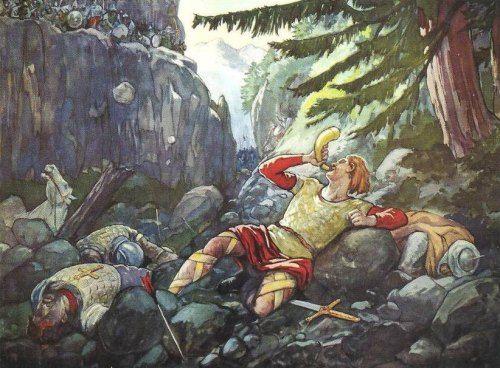 Mort de Roland à Roncevaux en 778:  entre histoire et légende