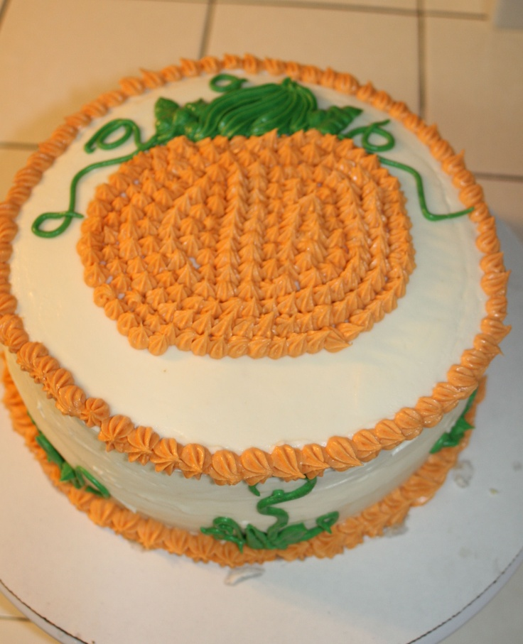 17 best images about fall cakes on pinterest fall cakes for Autumn cake decoration