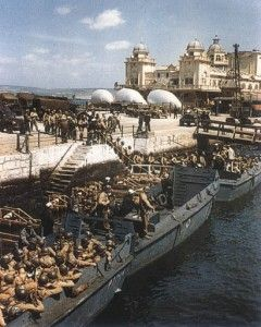 """It is not for nothing that General Eisenhower's radio broadcast on D-Day referred to the Soviet Union as our """"finest ally."""" We should remember the Americans who paraded along Weymouth's Esplanade and didn't return and all those who defied Fascism. We should abhor the ideology of those who scapegoated """"foreigners"""" for causing their economic problems and celebrate the unity and sense of common purpose which exists in Europe today."""