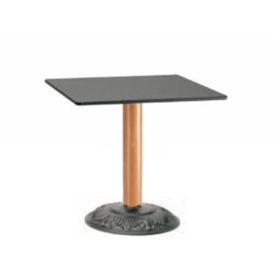Picior (baza) de masa, picioare (baze) de masa de la PEDRALI din ITALIA, metalice, cromate, satinate, fonta, lemn