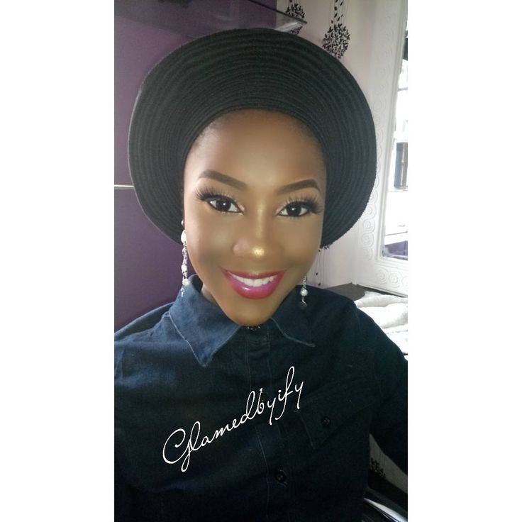 """40 Likes, 1 Comments - ifeoma (@glamedbyify) on Instagram: """"Pre Engagement Makeup 👍👌👏👍❣️💕 Makeup and Gele: @glamedbyify  #ibadanmakeupartists #naijabestmua…"""""""