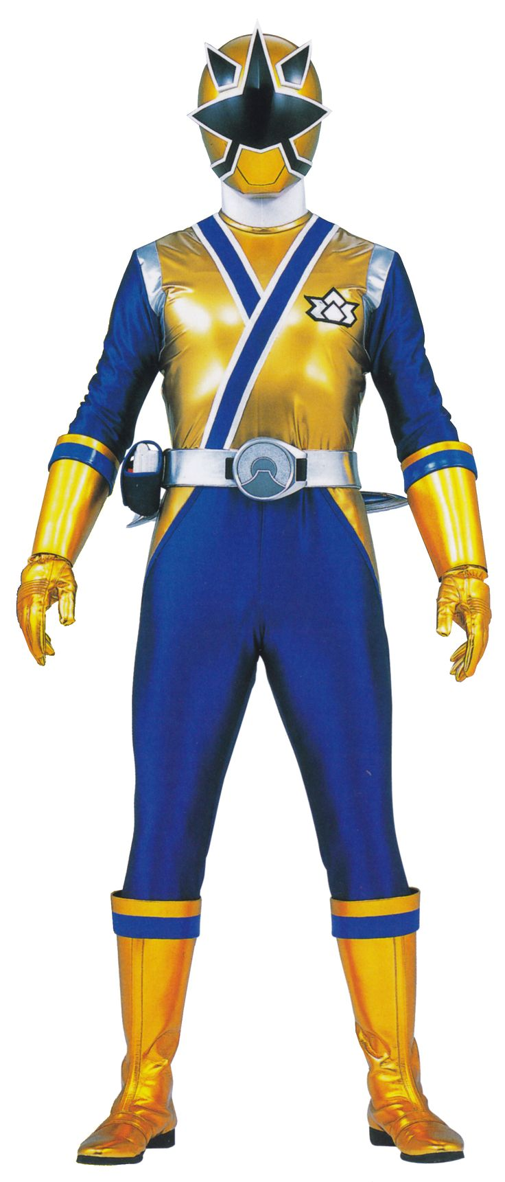 His helmet is pushed down and the Super Silver Spear changes to Anchor Mode. Description from powerrangers.wikia.com. I searched for this on bing.com/images