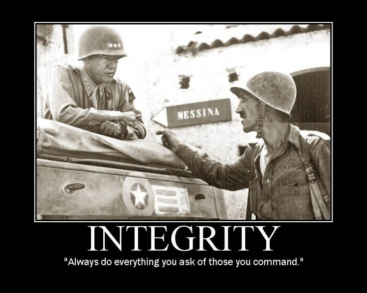 Wisdom from Patton as seen on AOM