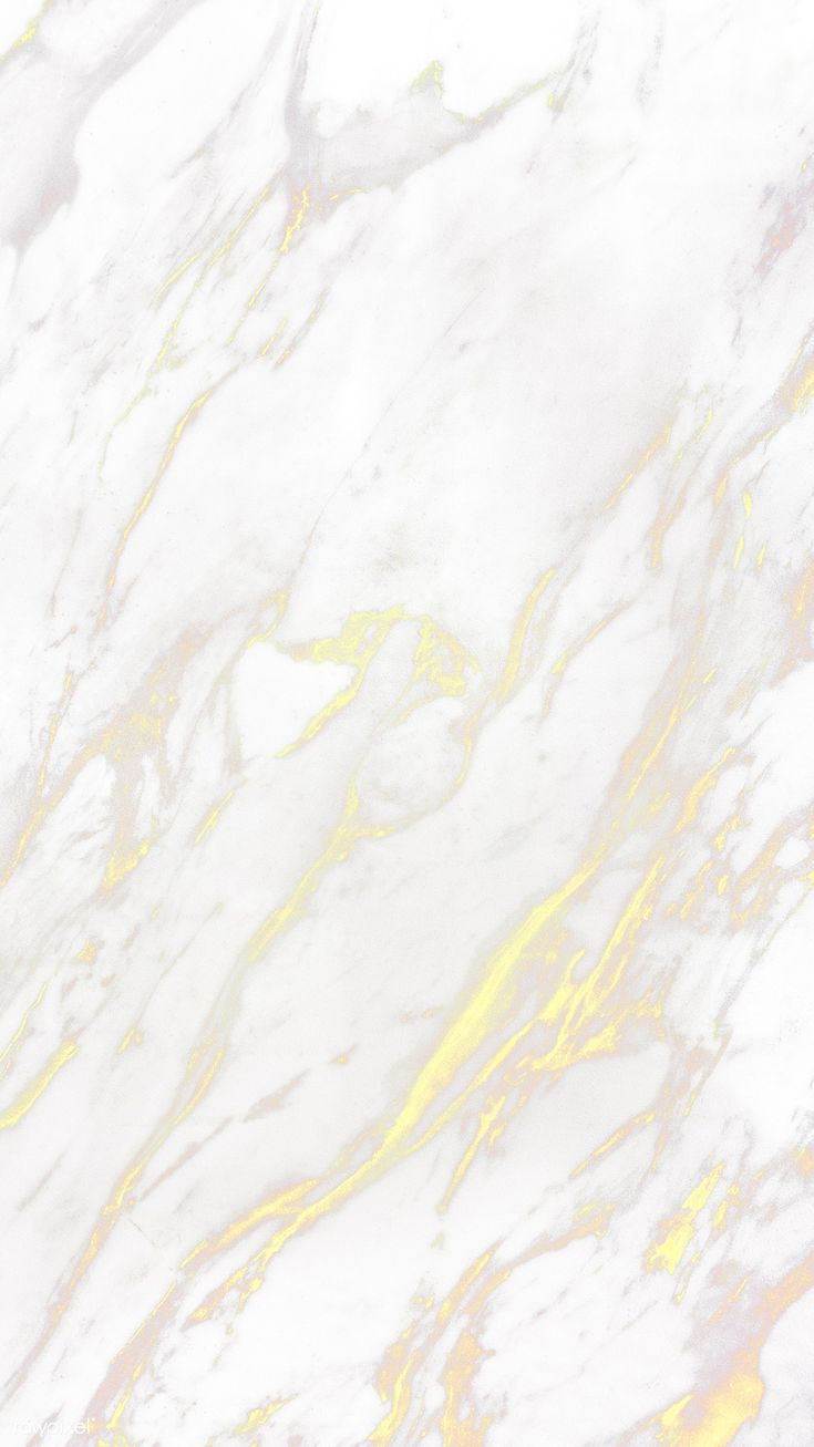 Download premium illustration of White yellow marble textured mobile phone