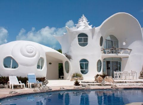 shell house architecture in mexico httpwwwcompletely coastal - Shell Homes