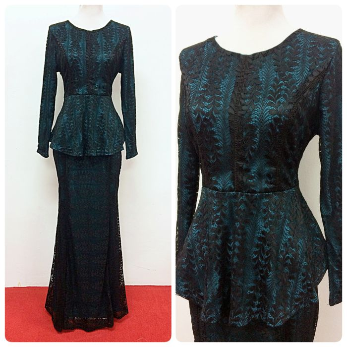 Kurung Lace Adonia @ RM280, available to be purchased online at www.empireofelegance.com.my