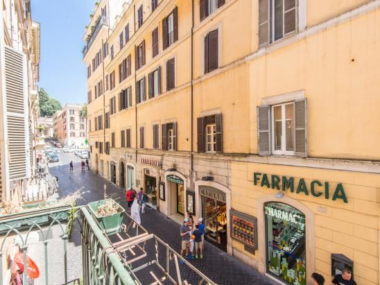 The view - Spanish Steps http://www.romesweethome.com/Spanish-Steps-Luxury-Apartment.html