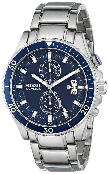 Fossil Men's CH2937 Analog Display Analog Quartz Silver Watch