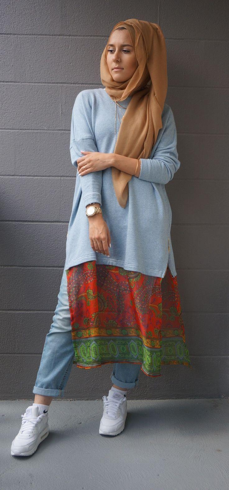 Dina tokio ♥ Muslimah mipster fashion & hijab style