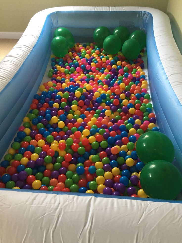 Swimming Pool And Balls Ball Pit Worth Every Penny