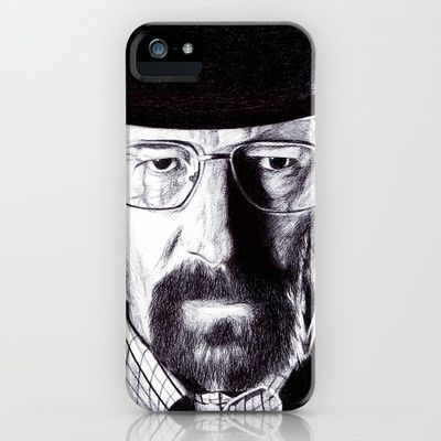 Heisenberg  iPhone & iPod Case by DeMoose_Art - $35.00 Introducing iPhone 6 Cases to Society6!