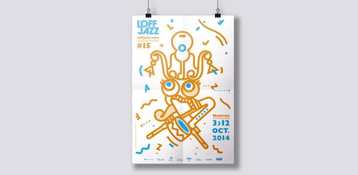 L'OFF JAZZ MONTREAL 2014 on Behance