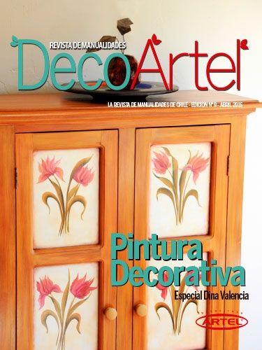 Mira la nueva revista de manualidades DecoArtel N°9: Pintura Decorativa