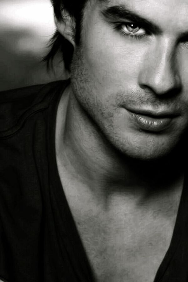 Ian somerhalder. What people don't know is that he's an amazing man. He's down to earth and has a passionate heart for charity. He cares about animals and people and humanity. He's not just a pretty face, he's an earthly angel helping those in need. So please, don't repin cause he's beautiful, repin cause of what he stands for and to get the word out about his organization.............isfoundation.com Thanks, ~~~amber