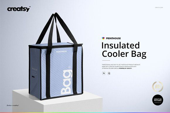 Download Insulated Cooler Bag Mockup Set Cooler Bag Bag Mockup Mockup