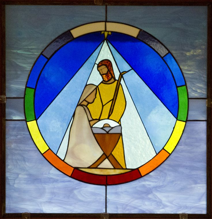 nativity in stained glass - Google Search