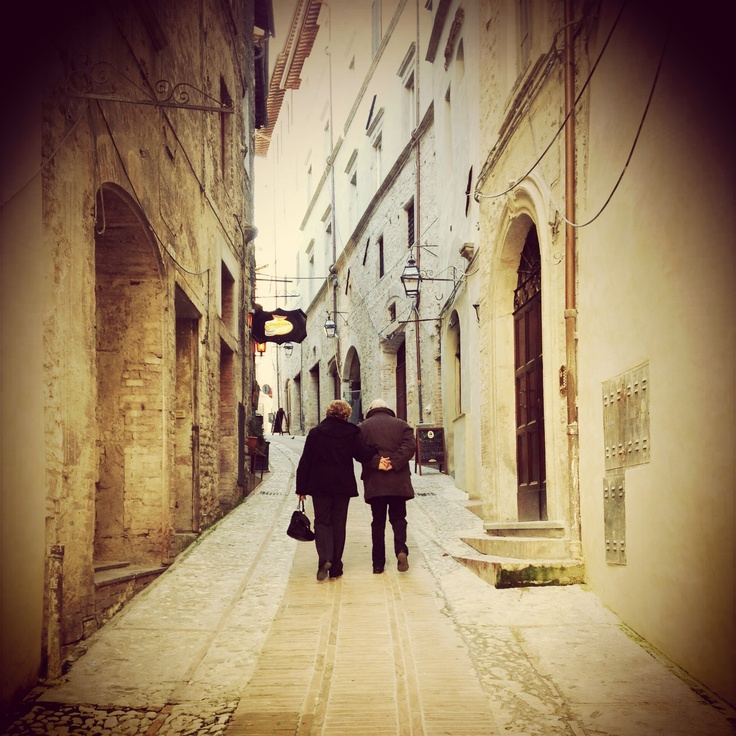 Mum and dad - No words, only love!! ❤ Spoleto - Umbria