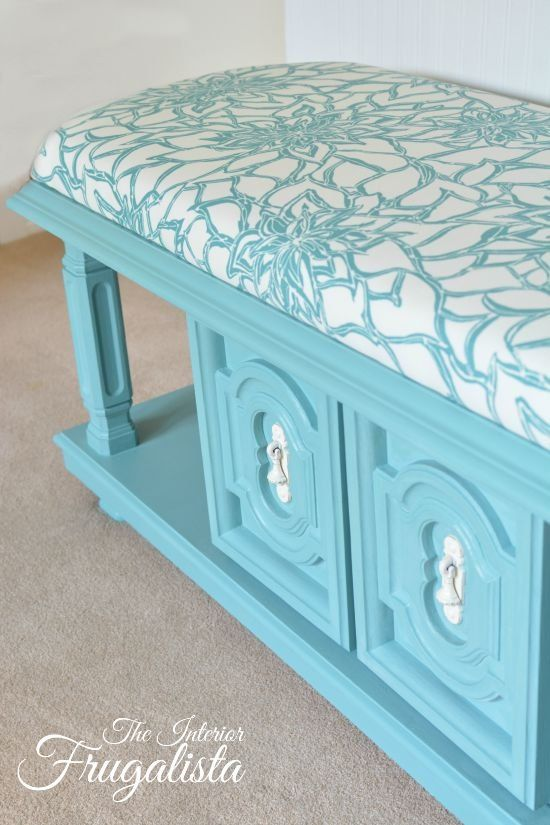From 70's Coffee Table to upholstered Bench