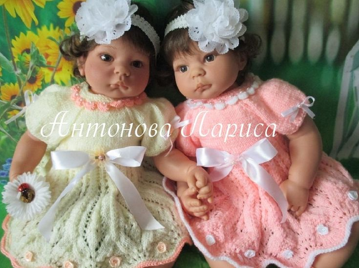 """МК платьеца """"Малинка для Захарки"""" / Мастер-классы, творческая мастерская: уроки, схемы, выкройки для кукол / Бэйбики. Куклы фото. Одежда для кукол"""