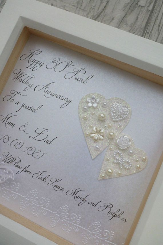 Ideas For Pearl Wedding Anniversary Gifts: Best 10+ 30th Anniversary Gifts Ideas On Pinterest
