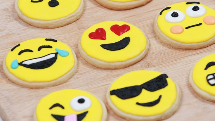 Today I made many different Emoji cookies! I really enjoy making nerdy themed goodies and decorating them. I'm not a pro, but I love baking as a hobby. Pleas...