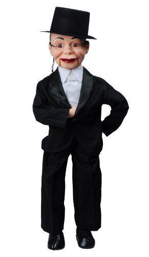 Charlie McCarthy Dummy Ventriloquist Doll Most Famous Celebrity Radio Personality Created by Edgar Bergen. Comes w/BONUS Book - How to Instructions to Learn Ventriloquism. Celebrity Ventriloquist Doll http://www.amazon.com/dp/B00FFQKJC8/ref=cm_sw_r_pi_dp_htlGwb0J9P1HX