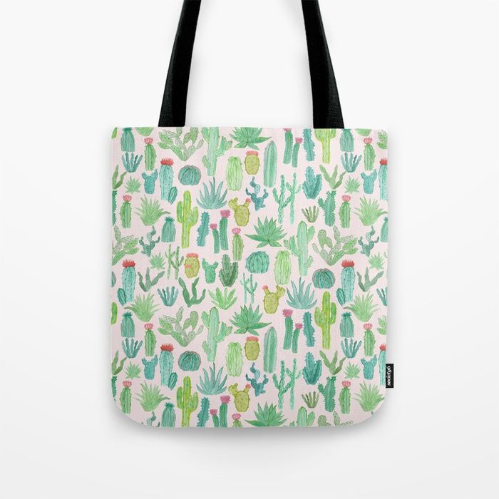Buy Cactus Tote Bag by abee. Worldwide shipping available at Society6.com. Just one of millions of high quality products available.
