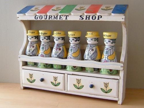 スウェーデン/JIE Gantofta 【Gourmet Shoppe】 スパイス入れ - 北欧ビンテージ、食器の店:EGGPLANT EGG