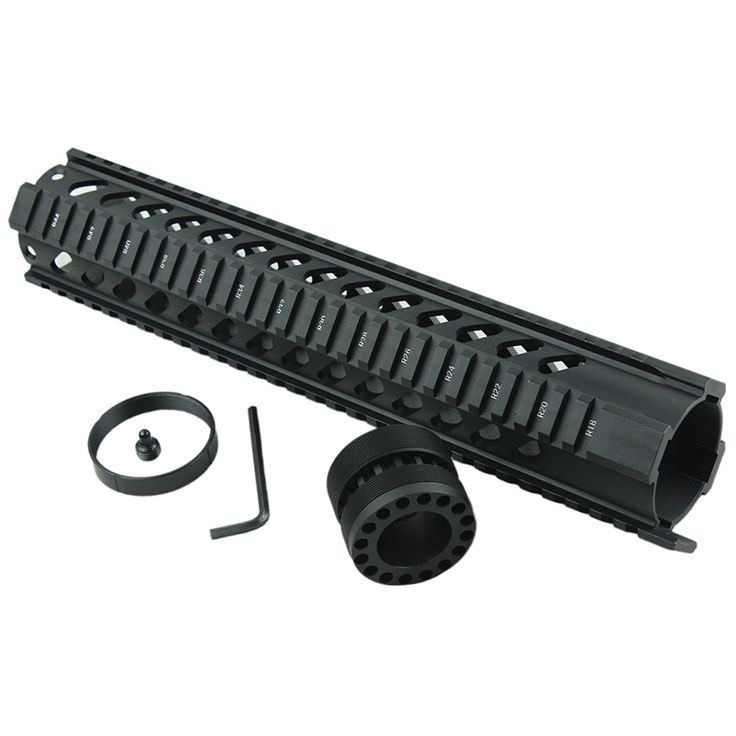 33.06$  Watch here - http://ali25y.shopchina.info/1/go.php?t=32796708862 -  Funpowerland Tactical T-Serie 4/15 Free Float 12 Inch Handguard Quad Rail Scope Mount With Slanted Holes  #buychinaproducts