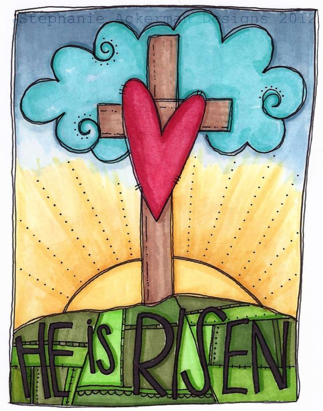 I do{odle}: He is Risen watermark