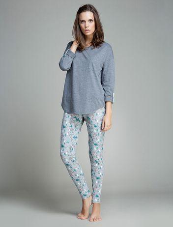 women'secret | Productos | Pijama largo de algodón