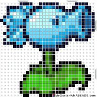 HamaBeads Plants vs Zombies