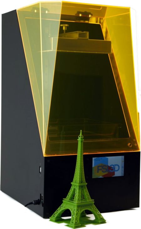 (29-11-14) Low cost Pegasus Touch SLA 3D printer coming via Kickstarter