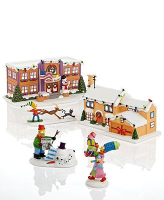 Department 56 Collectible Figurines, Simpsons Village Collection