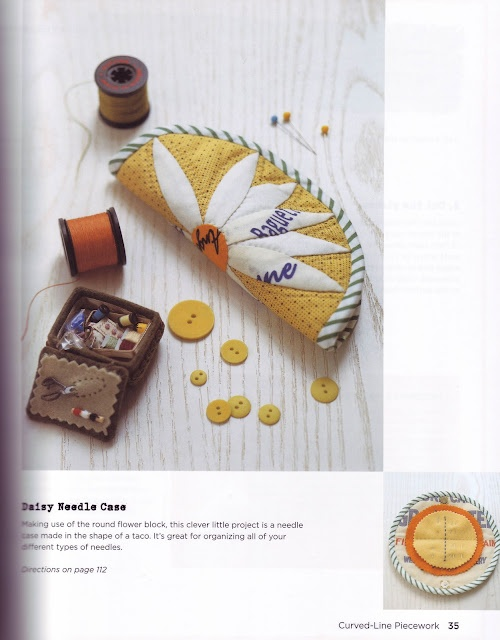 daisy needlecase~ Playful Patchwork by Suzuko Koseki