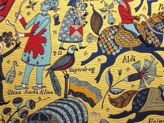 Grayson Perry looks at class and taste in his amazing tapestries.
