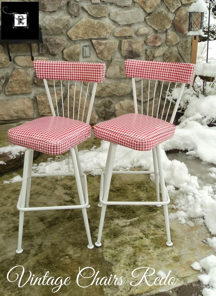Redo It Yourself Inspirations : Vintage Kitchen Chairs Redo