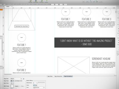 how to use axure for website wireframe