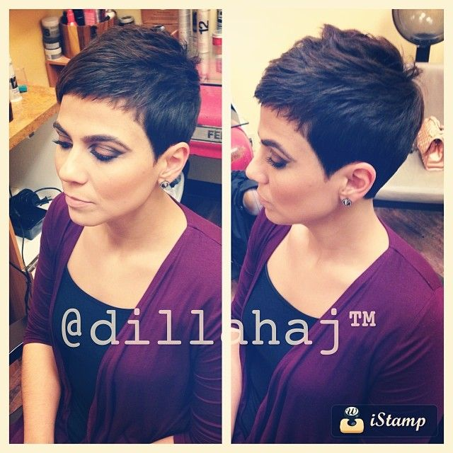 For my mom: cute pixie cut