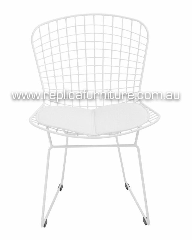 Replica Bertoia Wire Chair - Reproduction Harry Bertoia Wire Side Chair