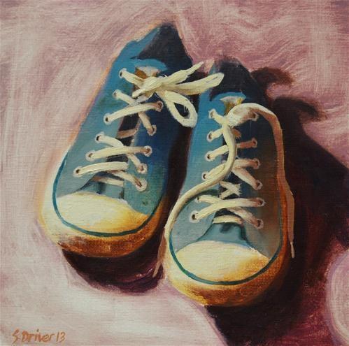 """Converse Still Life"" - Original Fine Art for Sale - © Steve Driver"